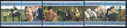 Papua New Guinea 1997 - The 50th Anniversary Of The Wedding Of Queen Elizabeth II And Prince Philip  3 Pairs (6 Stamps) - Papúa Nueva Guinea