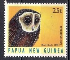 Papua New Guinea 1998 - Birds - Papúa Nueva Guinea