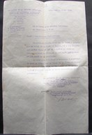 DH. 61. Ministère De La Défense, Distinctions Honorifiques Accordés Au Soldat Bastin René - Documents