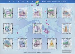 Hong Kong Block65 (complete Issue) Unmounted Mint / Never Hinged 1999 Attractions - Unused Stamps
