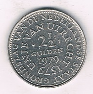 2 1/2 GULDEN 1979 UTRECHT NEDERLAND /3401/ - [ 3] 1815-… : Royaume Des Pays-Bas