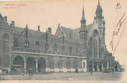 CPA - Belgique - Brugge - Bruges - La Station - Brugge