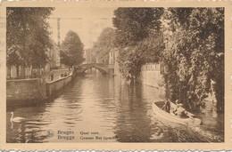 CPA - Belgique - Brugge - Bruges - Quai Vert - Brugge