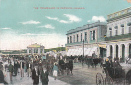CPA HAVANA (CUBA) THE PROMENADE IN CARNIVAL - Cuba