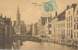 CPA - Belgique - Brugge - Bruges - Quai - Brugge