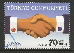 Türkei  2006  Mi.Nr. 3519 , EUROPA CEPT  Integration - Gestempelt / Fine Used / (o) - 2006