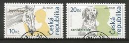 Tschechische Republik  2006  Mi.Nr. 472 / 473 , EUROPA CEPT  Integration - Gestempelt / Fine Used / (o) - 2006