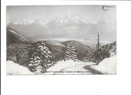 Ligne Aigle-Leysin Et Dent Du Midi. (Chemin De Fer) - VD Vaud
