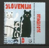 Slowenien / Slovenija  2006  Mi.Nr. 587, EUROPA CEPT  Integration - Gestempelt / Fine Used / (o) - 2006