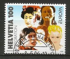 Schweiz / Helvetia  2006  Mi.Nr. 1965 , EUROPA CEPT  Integration - Gestempelt / Fine Used / (o) - 2006