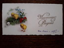 L19/224 Mignonette. Heureuse Paques - Easter