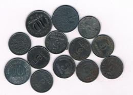 LOT 5 + 10   PFENNIG 1916-1922  DUITSLAND /3414/ - [11] Collections