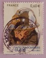 """FRANCE  YT 4588 OBLITÉRÉ """"CASQUE ANCIEN DE SAPEUR POMPIER"""" ANNÉES 2011 - France"""
