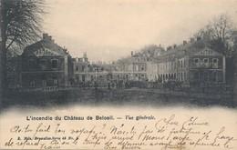 CPA - Belgique -  Beloeil - L'incendie Du Château - Vue Générale - Beloeil