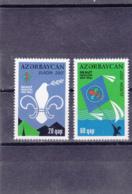 Azerbajan - Azerbaijan - Azerbaïdjan - Europa Cept - 2007 - YT N°580 Et 581** - Europa-CEPT