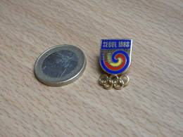 JEUX OLYMPIQUE  SEOUL 1988.  EGF. - Jeux Olympiques