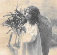 CPA...ENFANT.... ARTISTIQUE ..  L'ANGE...JOYEUX NOEL...1910..BE...SCAN - Portraits