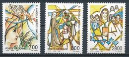 °°° VATICANO - Y&T N°872/74 - 1990 MNH °°° - Vatican