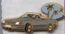 Pin's Arthus Bertrand Voiture Automobile Mercedes Coupé Cabriolet - Mercedes
