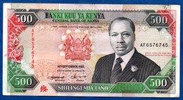 Kenya - 500 Shilingi   14/9/1993 - Km # 30f -  état  TTB - Kenia