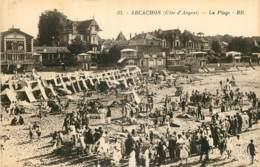 33 - ARCACHON -  LA PLAGE - COTE D'ARGENT - Arcachon