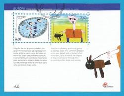 Portugal / Madeira  2006  Mi.Nr. Block 34 (258/259) , EUROPA CEPT  Integration - Gestempelt / Fine Used / (o) - 2006