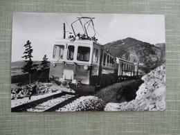 CPA SUISSE TRAIN RAPILLES DE BAULMES - VD Vaud