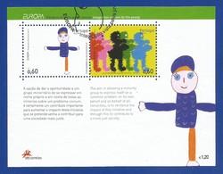 Portugal / Acores  2006  Mi.Nr. Block 30 (517/518) , EUROPA CEPT  Integration - Gestempelt / Fine Used / (o) - 2006