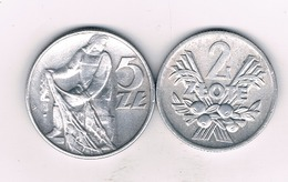 5 + 2 ZLOTYCH 1974  POLEN /3419/ - Pologne