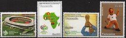 Tanzanie 2006 - Football, World Cup 2006 - 4 Val Neufs // Mnh - Tanzanie (1964-...)