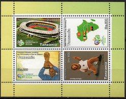 Tanzanie 2006 - Football, World Cup 2006 - BF De 4 Val Neufs // Mnh - Tanzanie (1964-...)