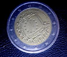 "Slovenia  / SLOVENIE   2 Euro  Coin 2015 ""30th Anniversary Of The EU Flag""   CIRCULEET  COIN - Slovenië"