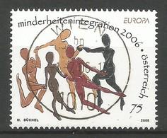 Österreich  2006  Mi.Nr. 2605 , EUROPA CEPT  Integration - Gestempelt / Fine Used / (o) - 2006