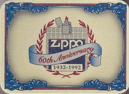 Boite Du Briquet Zippo 60th Anniversary ,trés Bon état ,sans Le Briquet - Zippo