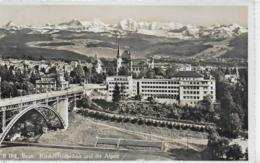 AK 0217  Bern - Kirchenfeldbrücke Und Die Alpen / Verlag Schönbühl Um 1948 - BE Bern