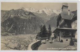 AK 0217  Grand Restaurant Harderkulm Ob Interlaken Ca. Um 1930 - BE Bern