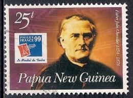 Papua New Guinea 1999 - International Stamp Exhibition Philexfrance '99 - Paris, France - Famous Frenchmen - Papúa Nueva Guinea