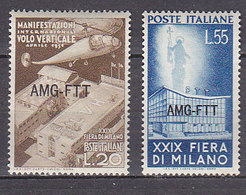 PGL DA067 - TRIESTE AMG-FTT SASSONE N°112/13 ** - Neufs