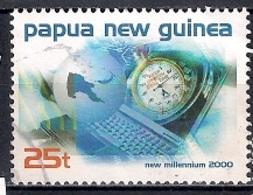 Papua New Guinea 1999 - New Millennium - Modern Technology - Papúa Nueva Guinea