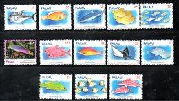 PALAU,2009,FISHES, Definitive, 12v.MNH** - Fishes