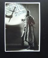 Autografo Mario Franzini Baritono Basso 2 Firme Autografe 1936 37 Faust Gounod - Autographes