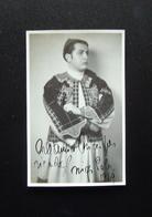 Autografo Arrigo Pola Tenore Regio Teatro Parma 1949 - Autografi