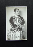 Autografo Arrigo Pola Tenore Regio Teatro Parma 1949 - Autographes