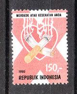 Indonesia - 1980. Contro Il Tabagismo. Against Smoking. MNH - Droga