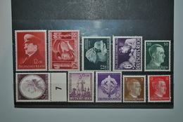 Allemagne/Reich 1941/42 MNH - Allemagne