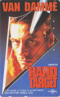 Télécarte Japon / 110-011 - Film Cinéma Kino - JEAN-CLAUDE VAN DAMME - HARD TARGET - Japan Movie Phonecard - 11234 - Cinéma