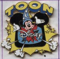 Pin's Disney Toon Mickey (signé Disney Channel) Média Télévision - Disney