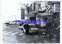 110593 ARGENTINA MAR DEL PLATA VISTA PARCIAL YEAR 1968 PHOTO NO POSTAL POSTCARD - Fotografie