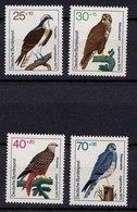 BRD GERMANY 1973 Vögel Birds Mi. 754-57 **   (b367 - Vögel