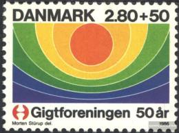 Denmark 863 (complete Issue) Unmounted Mint / Never Hinged 1986 Association The Arthritiskranken - Denmark